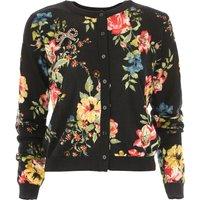 Twin Set by Simona Barbieri Sweater for Women Jumper On Sale, Black, Wool, 2019, 10 12 6
