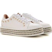 Twin Set by Simona Barbieri Sneakers for Women, White, Leather, 2019, 2.5 3.5 4.5 5.5 6.5 7.5 8.5