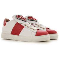 Twin Set by Simona Barbieri Sneakers for Women On Sale, Optical White, Leather, 2019, 2.5 7.5 8.5