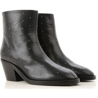 Twin Set by Simona Barbieri Boots for Women, Booties On Sale, Black, Leather, 2019, 2.5 3.5 4.5 5.5