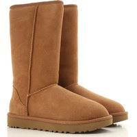 UGG Boots for Women, Booties, Chestnut, Suede leather, 2019, USA 5  UK 3 5  EU 36  JAPAN 220 USA 6