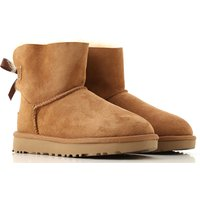 UGG Boots for Women, Booties On Sale, Chestnut, Suede leather, 2019, USA 7  UK 5 5  EU 38   JAPAN 24
