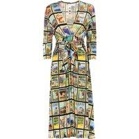 Ultrachic Vestido de Mujer, Vestido de Noche Baratos en Rebajas, Multicolor, Viscosa, 2019, 40 44 M
