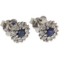 Italian Finest Jewelry Earrings for Women, White Gold, 18 kt White Gold, 2019