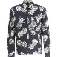 Valentino Shirt for Men On Sale in Outlet, Blue, Cotton, 2017, 15 15.75
