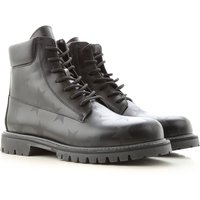 Valentino Garavani Boots for Men, Booties On Sale in Outlet, Black, Leather, 2021, 6.5 7 8