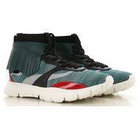 Valentino Garavani Sneakers for Men On Sale in Outlet, Multicolor, Fabric, 2019, 6.5 7