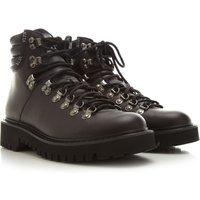 Valentino Garavani Boots for Men, Booties, Black, Leather, 2021, 5.5 7 8