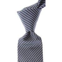 Valentino Corbatas Baratos en Rebajas, Azul Pizarra, Seda, 2019
