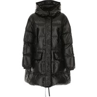 RED Valentino Down Jacket for Women, Puffer Ski Jacket On Sale, Black, Down, 2019, 6 8