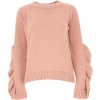 Valentino Sweater for Women Jumper On Sale, Red Valentino, Antique Rose, Virgin wool, 2019, 6 8