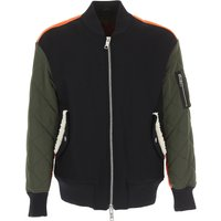 Versace Jacket for Men On Sale in Outlet, Black, Wool, 2019, L S XL