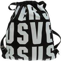 Versace Backpack for Men On Sale in Outlet, Black, polyester, 2019