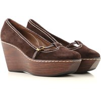 Vicini Wedges for Women On Sale in Outlet, Moro, Suede leather, 2019, 3.5 6.5