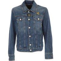 Vivienne Westwood Jacket for Men On Sale, Anglomania, Denim, Cotton, 2017, L M S XL