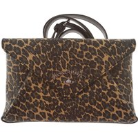 Vivienne Westwood Clutch Bag, Anglomania, Leopard, Leather, 2017