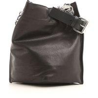 Vivienne Westwood Shoulder Bag for Women, Black, Leather, 2019