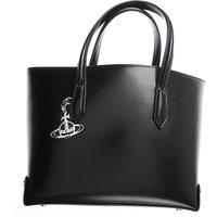 Vivienne Westwood Tote Bag, Black, Leather, 2019