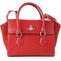 Vivienne Westwood Tote Bag, Red, Leather, 2019