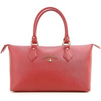 Vivienne Westwood Tote Bag, Anglomania, Red, Leather, 2019
