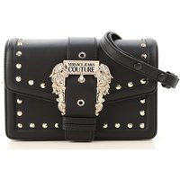 Versace Jeans Couture Shoulder Bag for Women, Black, polyestere, 2019