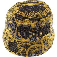Versace Jeans Couture Hat for Women On Sale, Black, Cotton, 2019, L M S