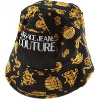 Versace Jeans Couture Hat for Women On Sale, Black, Cotton, 2019, L M