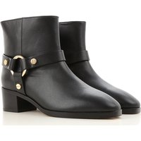 Stuart Weitzman Boots for Women, Booties On Sale, Black, Leather, 2017, 3.5 4 4.5 5.5 6 7 7.5