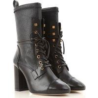 Stuart Weitzman Boots for Women, Booties, Black, Leather, 2019, US 7.5  (EU 38) US 8.5  (EU 39) US 1