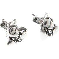 Vivienne Westwood Earrings for Women On Sale, Silver, Brass, 2019