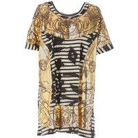 Vivienne Westwood T-Shirt for Women On Sale, Gold, Cotton, 2017