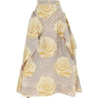 Vivienne Westwood Skirt for Women On Sale, Pearl Ivory, polyester, 2019, USA 6 -- IT 40 USA 8 -- IT