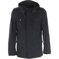Woolrich Jacket for Men On Sale, navy, polyester, 2017, L M S XL XXL