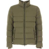 Woolrich Jacket for Men, Dark Green, polyamide, 2019, M S XL