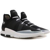 Y3 by Yohji Yamamoto Sneakers for Men On Sale, Black, Neoprene, 2017, 10 6.5