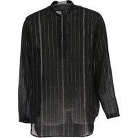 Yves Saint Laurent Shirt for Men On Sale in Outlet, Black, Wool Voile, 2019, 15.75 16.5