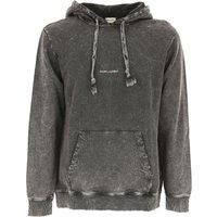 Yves Saint Laurent Sweatshirt for Men, Grey, Cotton, 2017, L M S XL XS XXL