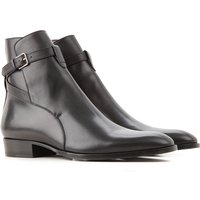 Yves Saint Laurent Boots for Men, Booties On Sale, Black, Leather, 2021, 5.5 7 7.5 8 8.5