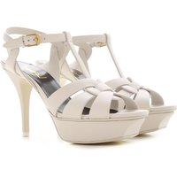 Yves Saint Laurent Sandals for Women On Sale, Porcelain, Leather, 2021, 3.5 4 4.5 5.5 6 6.5 7.5 8.5