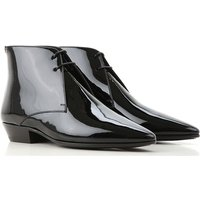Yves Saint Laurent Lace Up Shoes for Men Oxfords, Derbies and Brogues On Sale, Black, Leather, 2019,