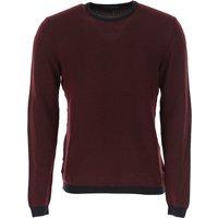 Zanone Sweater for Men Jumper On Sale, Bordeaux, Virgin wool, 2019, L XL XXL