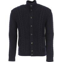 Zanone Sweater for Men Jumper On Sale, Midnight Blue, Virgin wool, 2019, L XL XXL XXXL