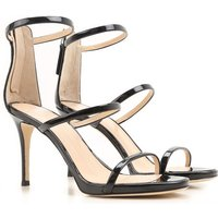Giuseppe Zanotti Design Sandals for Women On Sale in Outlet, Black, Patent Leather, 2019, 4.5