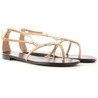 Giuseppe Zanotti Design Sandals for Women On Sale, Nude, Leather, 2019, 3.5 4 4.5 6.5 8.5