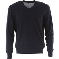 Ermenegildo Zegna Sweater for Men Jumper On Sale in Outlet, Blue, Wool, 2017, M S