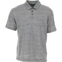 Ermenegildo Zegna Polo Shirt for Men On Sale, Grey Melange, linen, 2019, L M