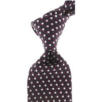 Ermenegildo Zegna Ties On Sale, Black, Silk, 2019