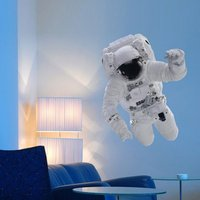 Science Museum Astronaut Wall Sticker - Science Gifts