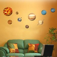 Science Museum Planet Wall Stickers - Science Gifts