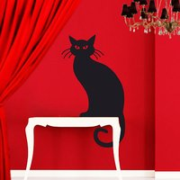 Chat Noir Wall Sticker - Butterfly Gifts